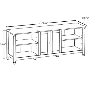 "Select Aquarium Stand, 72"" x 18"" - 125 and 150 Gallon"