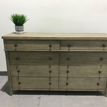 Toulouse 8-drawer wide dresser