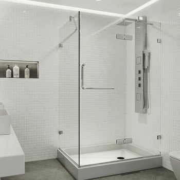 Glass and hardware for shower door VG6011