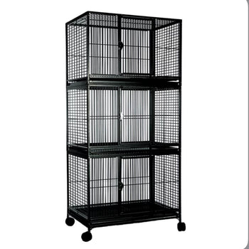 Large Triple Bird Cage