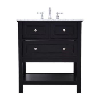 "30"" single bathroom vanity"