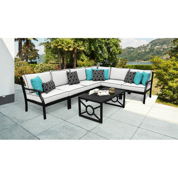 kathy ireland Madison Ave. 6 Piece Sectional Seating Group with Cushions