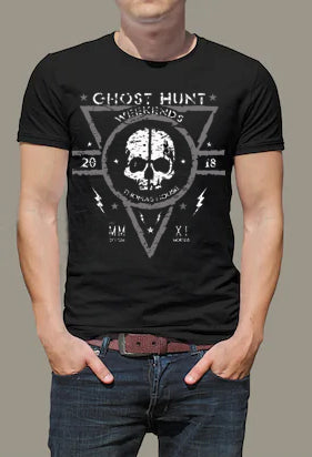 Thomas House Hotel GHW Skull 2018 Grey Official Event T-Shirt