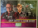 Autographed 8x10 Promotional 2017 Rhodes Hall Ghost Hunt with Chip Coffey & Adam Berry