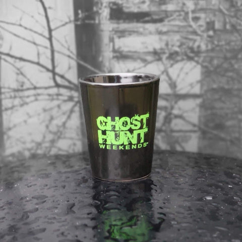 Ghost Hunt Weekends Official Shot Glass