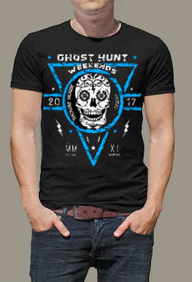 Thomas House Hotel Sugar Skull 2017 Official Event T-Shirt