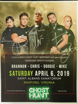 Autographed Promotional 8x10 2019 Saint Albans Event with TWC