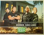 Autographed 8x10 Promotional 2020 Clay County Jail Ghost Hunt w/TWC