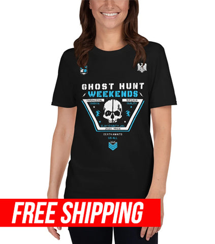 The Clay County Jail and Courthouse in Florida, one of the most haunted locations in Florida. Own the shirt today.