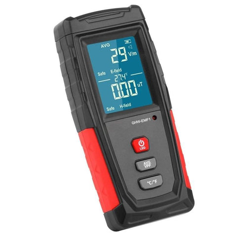 GHW-EMF1 RECHARGEABLE GHOST DETECTOR WITH TEMPERATURE AND SOUND