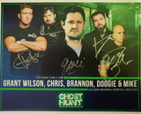 Autographed 8x10 Promotional 2018 Old War Memorial Ghost Hunt w/Grant Wilson & TWC