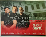 Autographed 8x10 Promotional 2018 Moon River Brewery Dinner & Ghost Hunt w/TWC