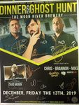 Moon River Brewery Autographed 2019 Event Poster with TWC