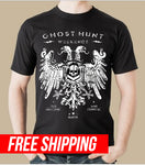 The Old War Memorial Hospital Ghost Hunt Weekends Graphic Tee from the 2018 ghost hunt event