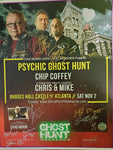 Autographed Rhodes Hall Event Poster w/Chip Coffey & TWC