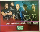 Autographed 8x10 Promotional 2018 Lake Shawnee Amusement Park w/Steve & Tango and TWC