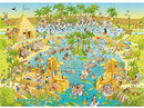 Degano Zoo Nile Habitat Puzzle (1000 Pieces)