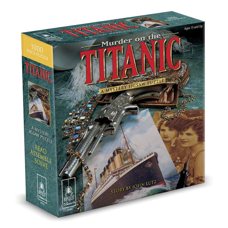 Murder on the Titanic: Mystery Puzzle (1000 Pieces)