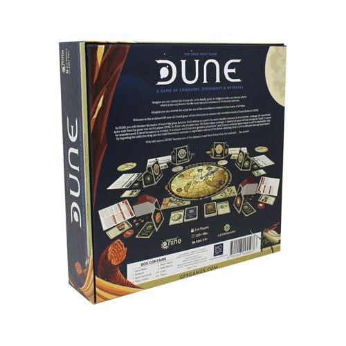 Dune: The Board Game - Inside The Box