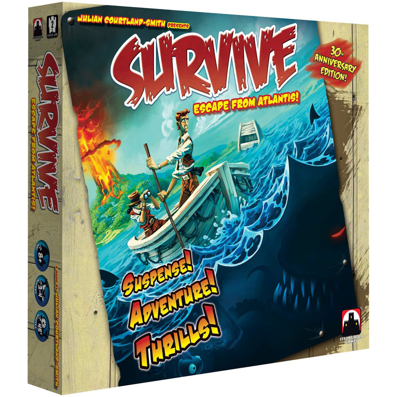 Survive: Escape From Atlantis! - Inside The Box
