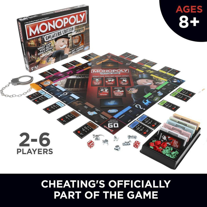 Monopoly Cheaters Edition - Inside The Box
