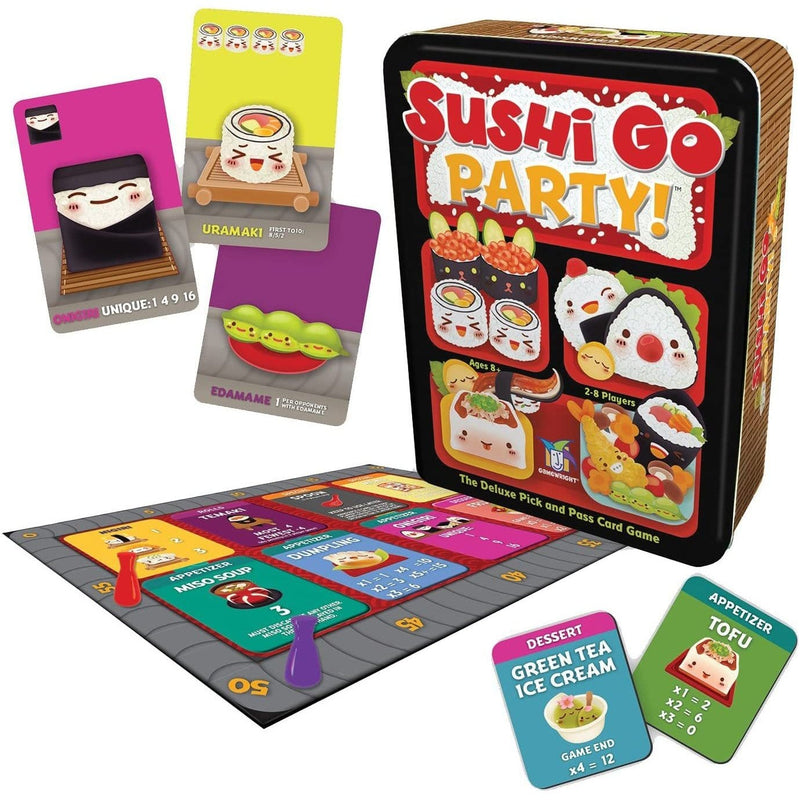 Sushi Go Party! - Inside The Box