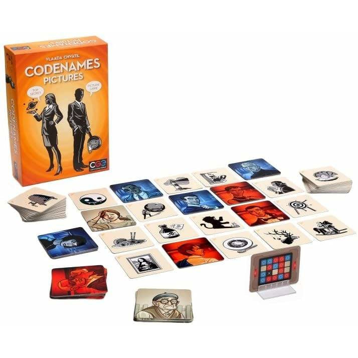 Codenames: Pictures - Inside The Box