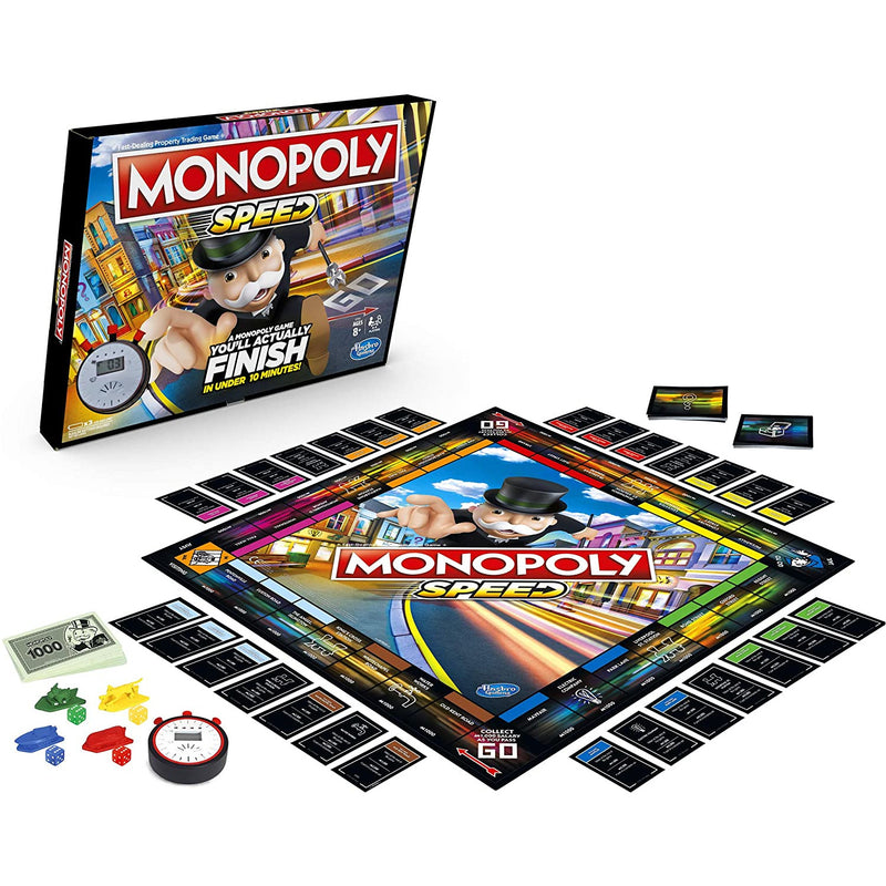 Monopoly Speed - Inside The Box