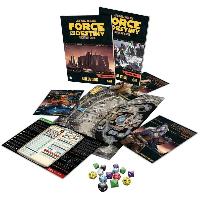 Star Wars: Force and Destiny RPG - Beginner Game - Inside The Box