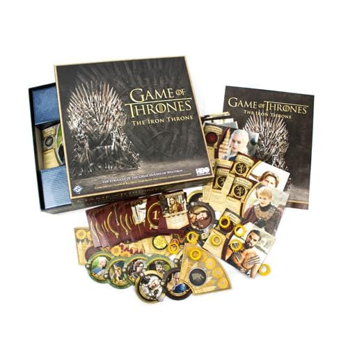 Game of Thrones: The Iron Throne - Inside The Box