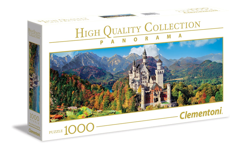 Neuschwanstein Castle Puzzle (1000 Pieces)