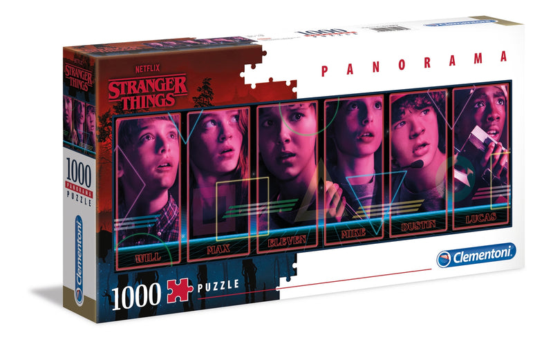 Stranger Things Panorama Puzzle (1000 Pieces)