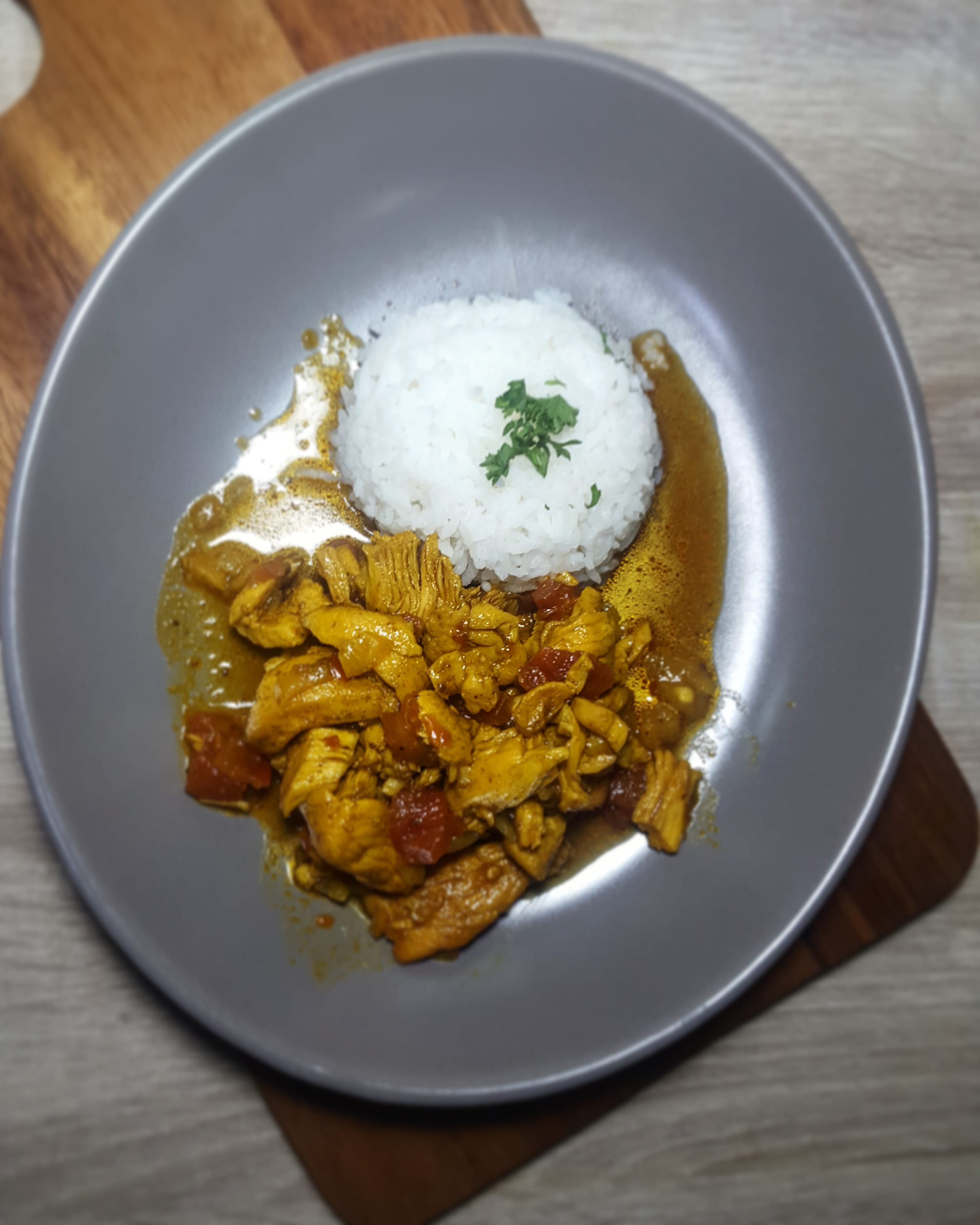 Durban Chicken Curry & Rice - Siam BBQ Company