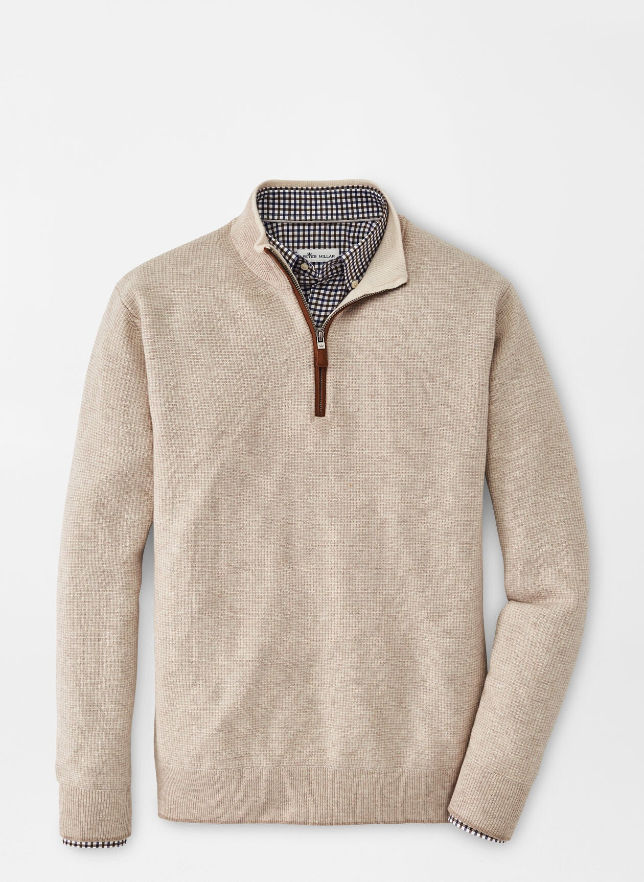 PM WOOL/CASH 1/4 ZIP