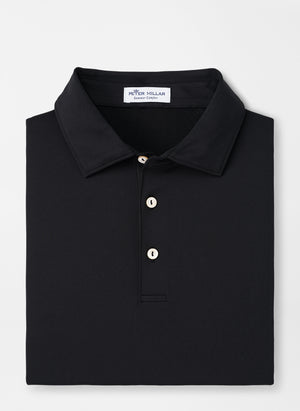PETER MILLAR SOLID  PERFORMANCE POLO BLACK