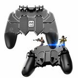 New Mobile Game Controller AK66 Six Fingers PUBG Gamepad Trigger Aim Button L1R1 Shooter Joystick for IOS Android Mobile Phone U