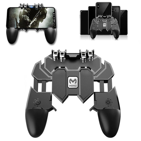 AK66 Mobile Game Controller Gaming Trigger Joystick Gamepad Console for PUBG L1R1 Phone Game Tools