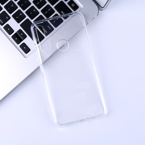 New Phone Case For UMIDIGI X Case Clear Transparent Fit Casing TPU Silicone Soft Plain Anti-knock UMI X Back Phone Cover Case