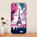 "For Huawei Ascend G7 Case Silicone Cover For Huawei G7 Cover Cute Soft TPU Fundas For Huawei Ascend G7 C199 5.5"" Case Coque Capa"