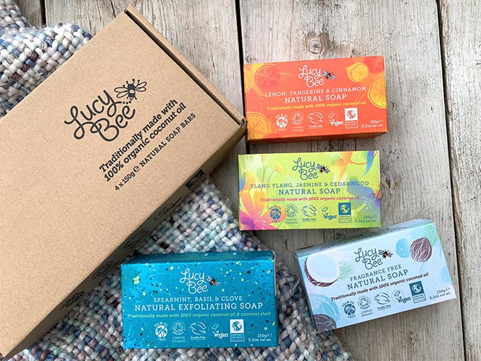 Lucy Bee Soaps: Ethical Best Buy and Free From Winners