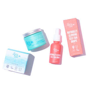 Tanning Drops and Face Cream Bundle