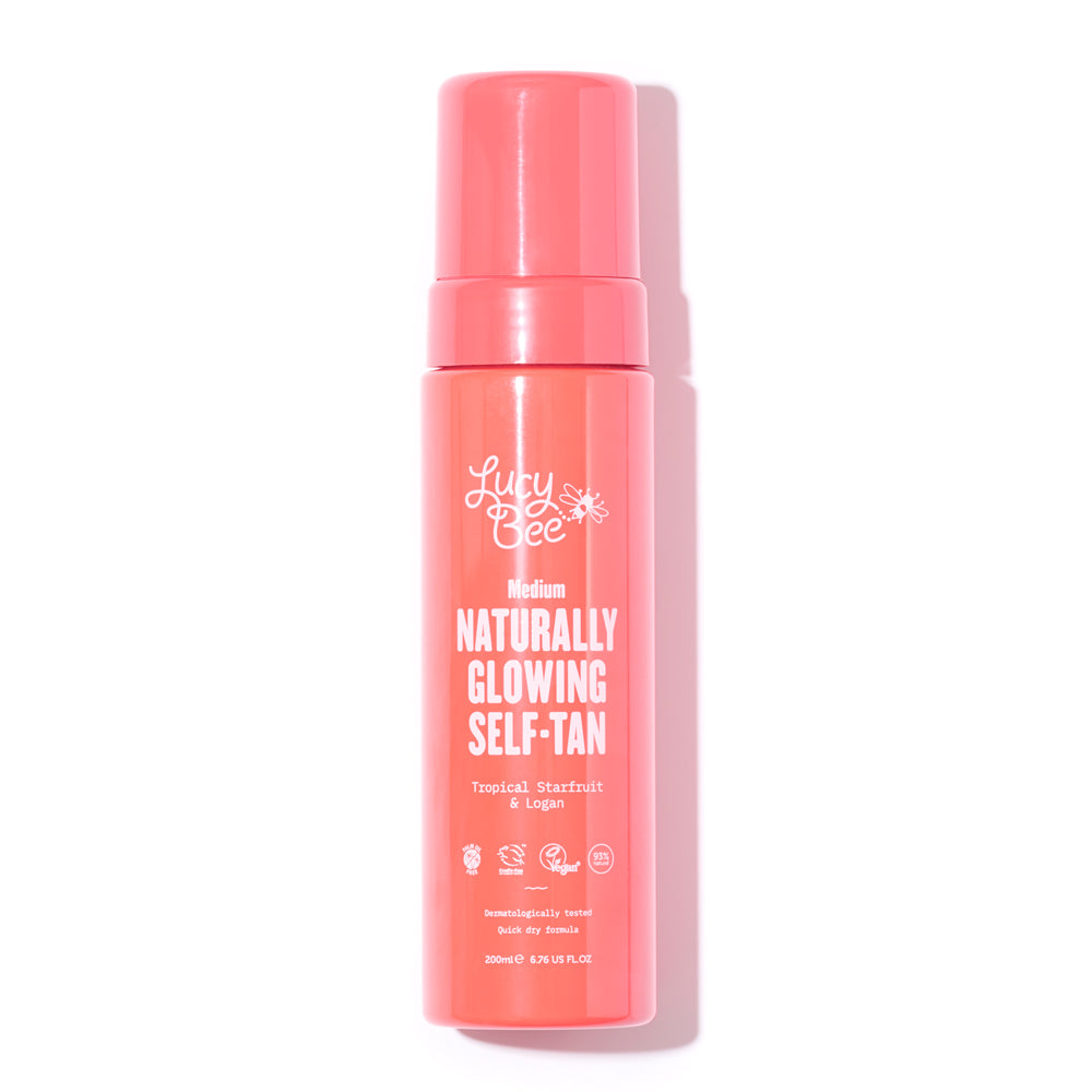 Naturally Glowing Self-Tan Mousse 200ml