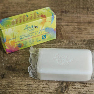 Ylang Ylang Jasmine and Cedarwood Natural Soap Pack and Flow Wrap