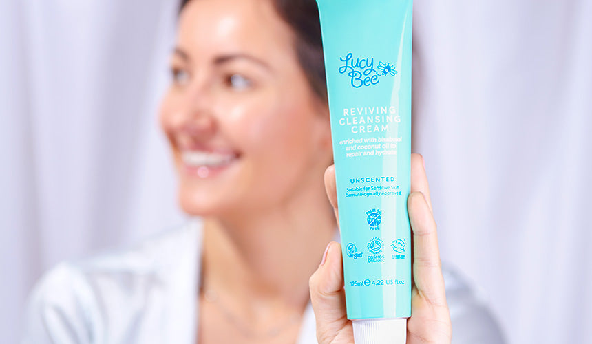 Lucy Bee Skincare Lucy with cleanser
