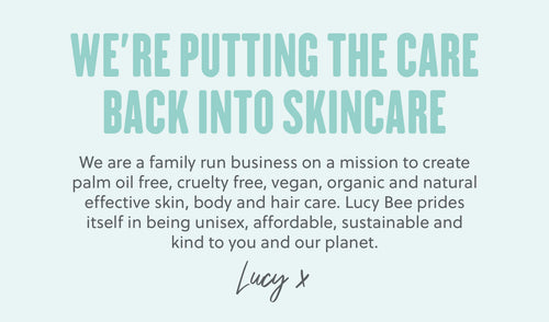 We're putting the Care back into Skincare