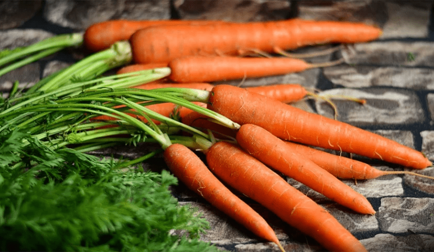 Lucy Bee Skincare carrots