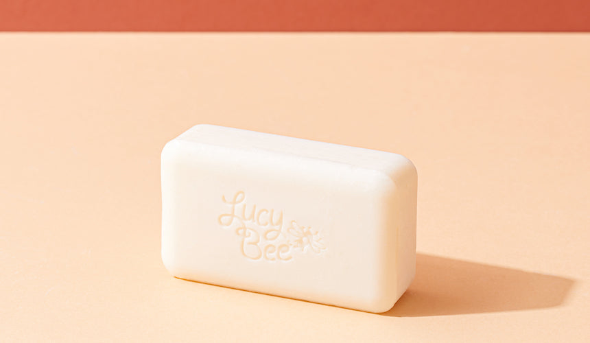 Lucy Bee Skincare Fragrance Free soap