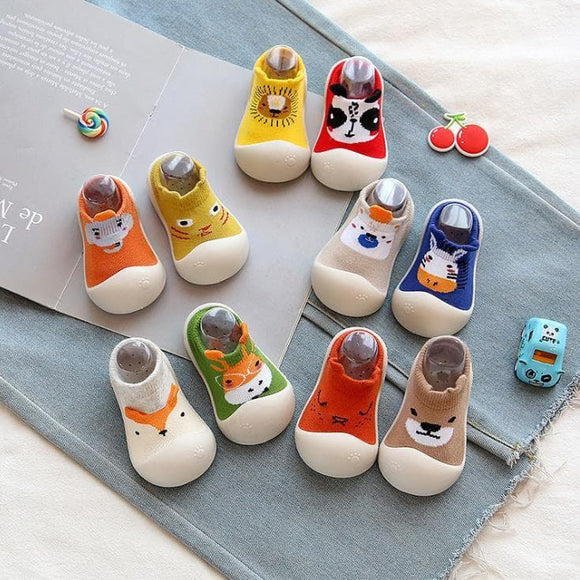 baby shoes first walk - animal design - rpbrothershop