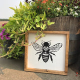 Save the Bees!... Bee wall hanging