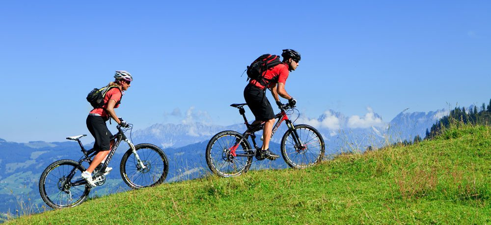1200 km of bike trails in Kitzbühel